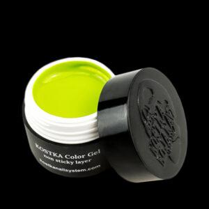 Kostka color gel no sticky layer kiwi green