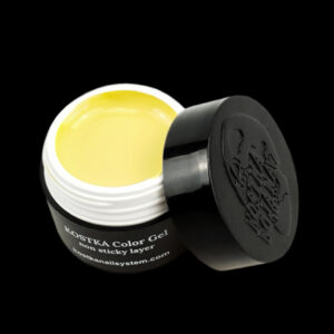 Kostka color gel no sticky layer yellow